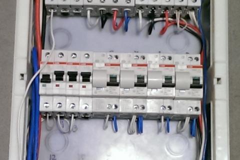 Монтаж электрощита встроенного от 1000 рублей