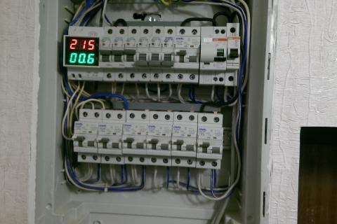Сборка и подключение электро щита от 3000 рублей