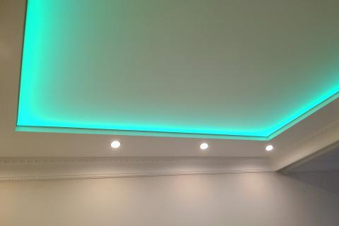 Монтаж светодиодных  лент от 200р м/п
