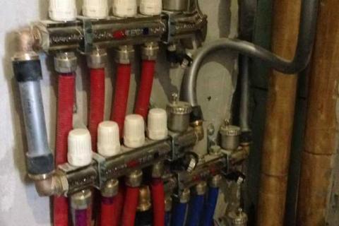 Установка коллекторов для отопления от 2000 р