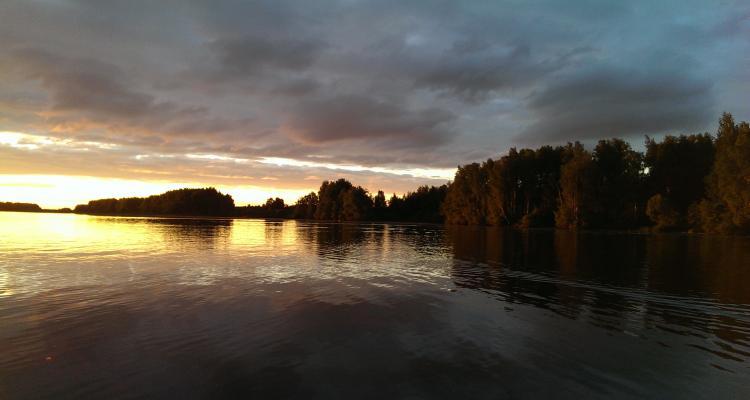 Горьковское водохранилище Волгореченск
