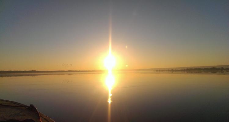 Восход солнца в Бармино