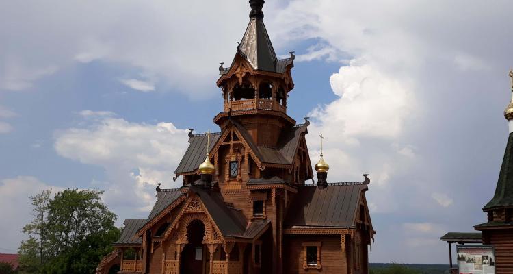 Церковь в Бармино